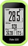 Shieranlee Carcasa Compatible con Bryton Rider 430,Bryton Rider 320 Funda de Silicona para GPS - Cover
