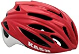 Kask Rapido - Casco para Bicicleta de Carretera, Color Rojo, Talla M (48-58 cm),Talla M (48-58 cm)