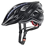 Uvex City Light Casco de Bicicleta, Adultos Unisex, Anthracite Mat, 52-57 cm