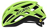 Giro Agilis MIPS Casco de Ciclismo Road, Unisex Adulto, Amarillo Fluorescente, Medium (55-59cm)