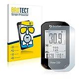 BROTECT Protector Pantalla Cristal Mate Compatible con Bryton Rider 320 Protector Pantalla Anti-Reflejos Vidrio, AirGlass