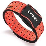 iGPSPORT HR60 (Versión Española) - Monitor de Frecuencia Cardiaca Foto-Eléctrico, Batería Litio Recargable, Bluetooth y Ant, Ciclismo,Running,Gimnasia,aeróbica. Resistencia IPX7 - Naranja