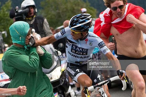 Alpe D'Huez Alberto Contador