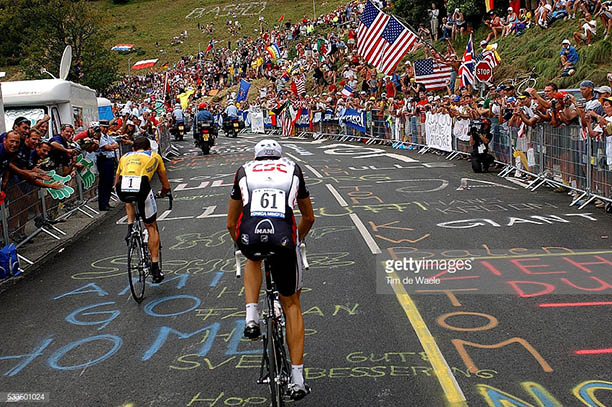Alpe D'Huez Armstrong Basso