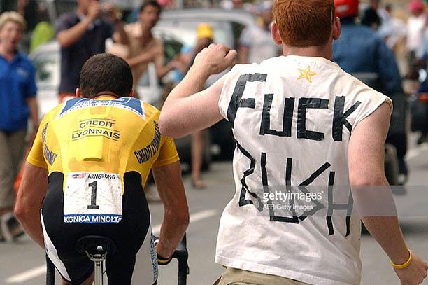 Alpe D'Huez Armstrong
