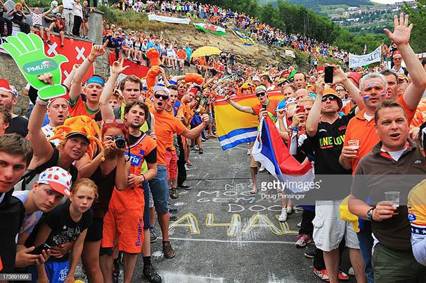 Alpe D'Huez Cima de los Holandeses