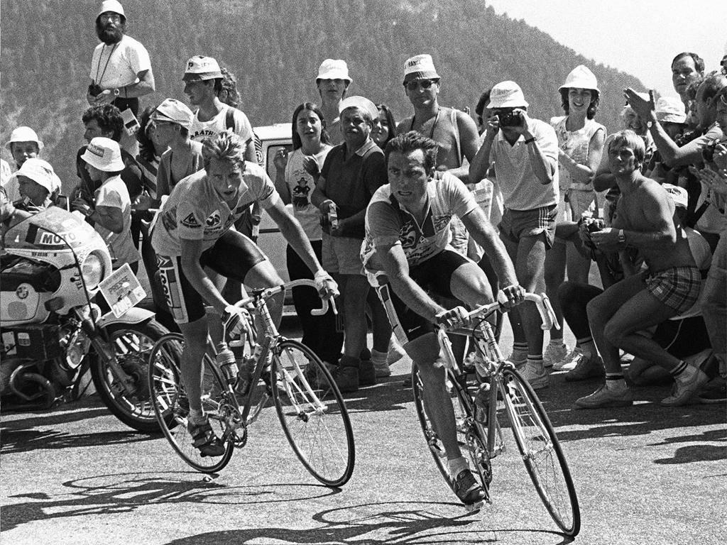 Alpe D'Huez Lemond vs Hinault
