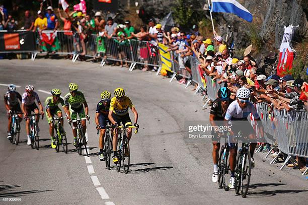 Alpe D'Huez Nairo Quintana Froome Contador Valverde