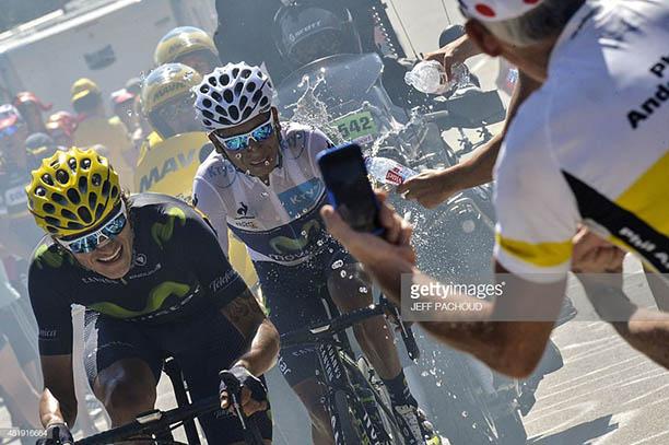 Alpe D'Huez Nairo Quintana y Anacona