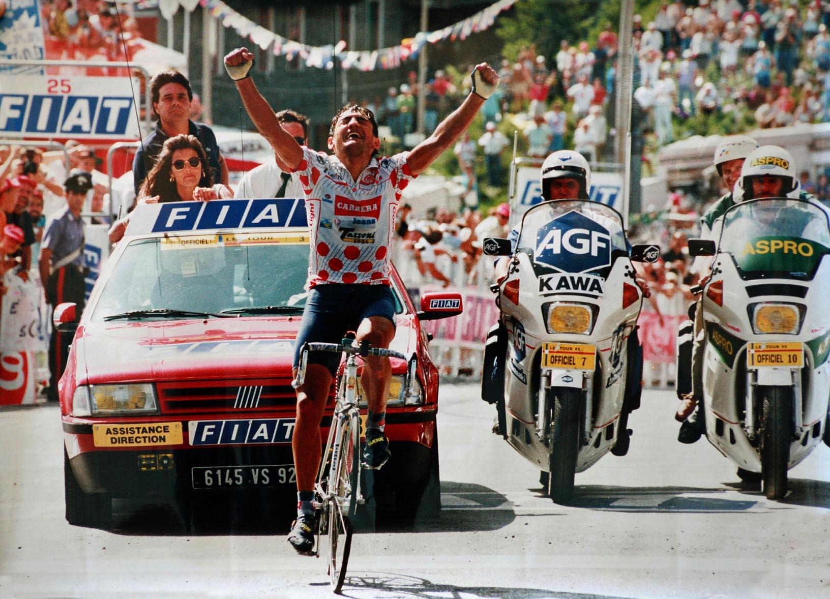 Claudio Chiappucci Tour 1992 Iseran