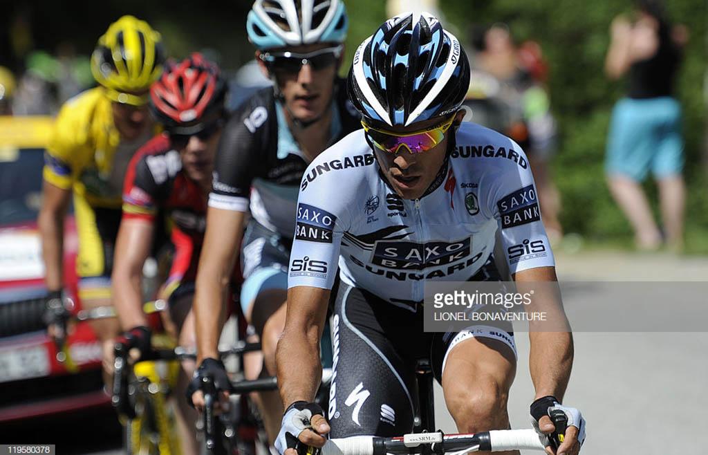 Contador Evans Schleck Voeckler Galibier
