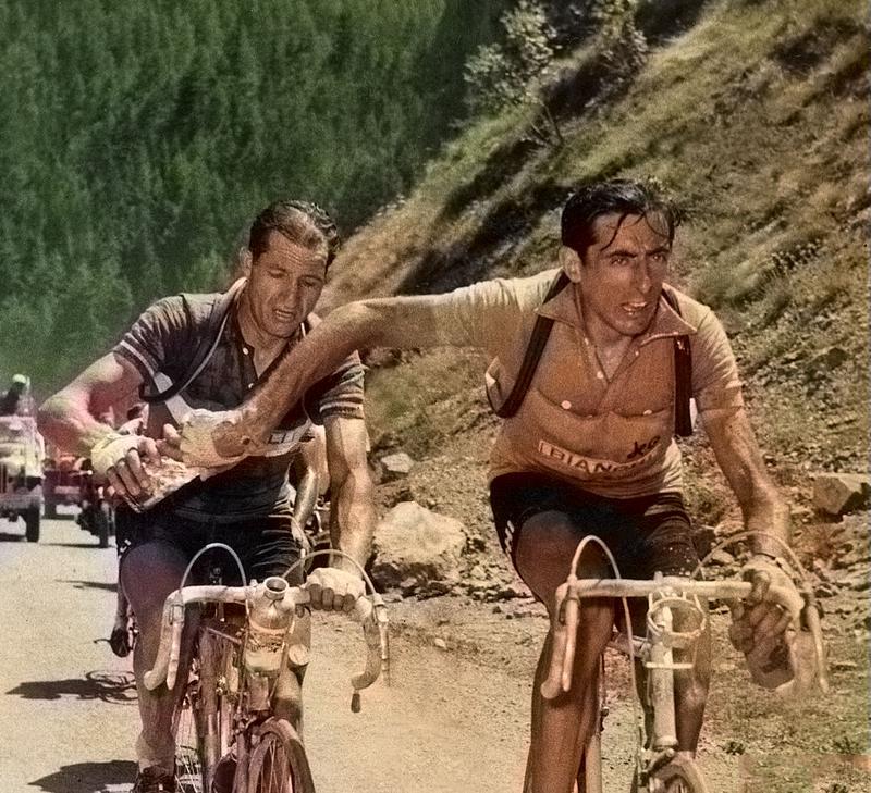Coppi Bartali 1952 Galibier