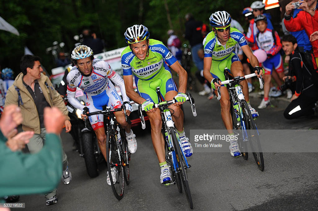 Mortirolo Basso Nibali Scarponi Giro Italia 2010
