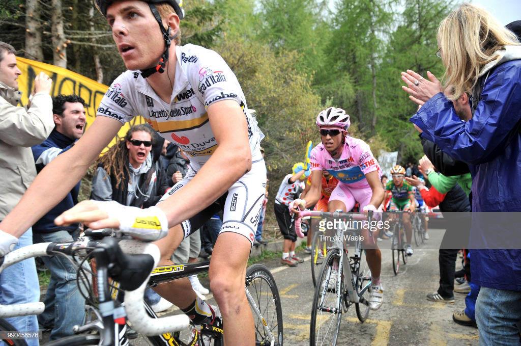 Mortirolo Rico Contador Giro Italia 2008