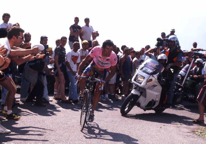 Mortirolo 1996 Giro Italia Olano