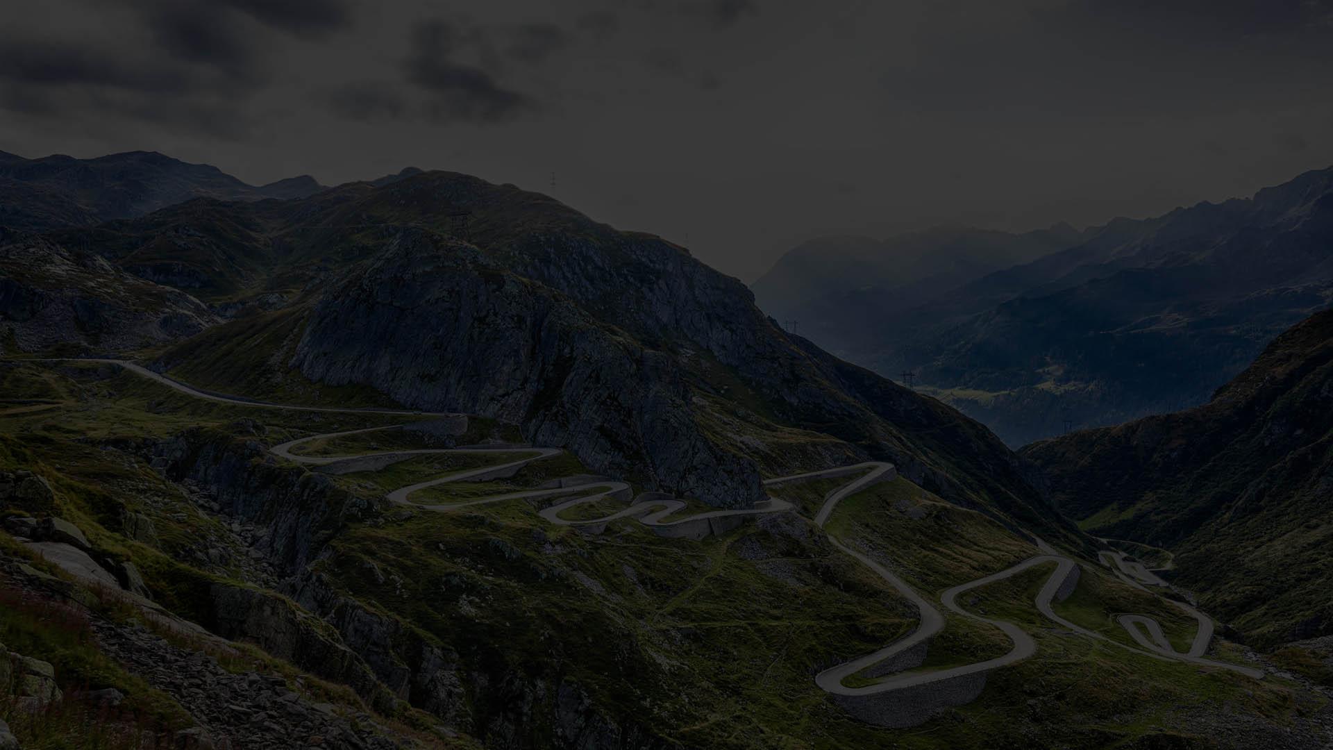 Suiza, Puertos de Montaña