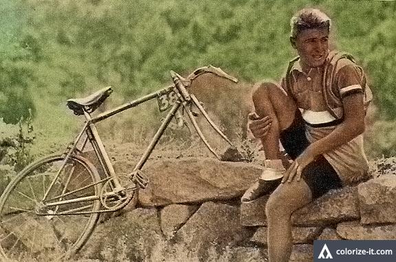 Rene Vietto llora Tour de Francia 1934