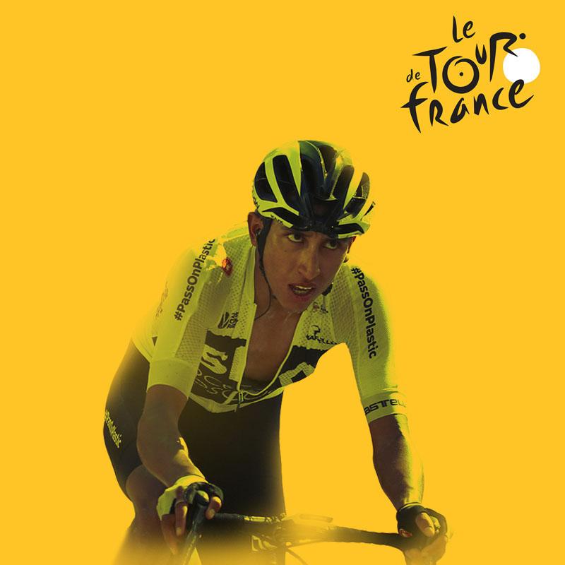 Egan Bernal Ineos Tour de Francia 2019