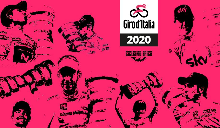 giro italia 2020 poster