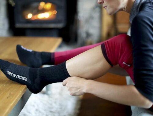 calcetines ciclismo invierno frio