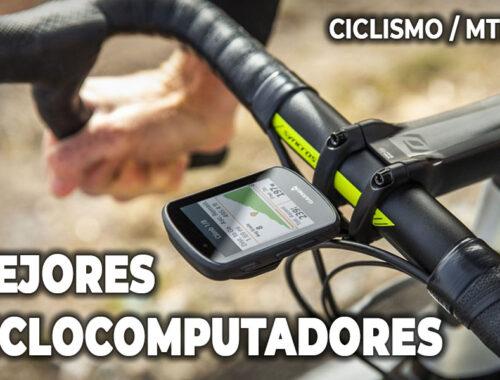 los mejores ciclocomputadores de ciclismo y mtb gps