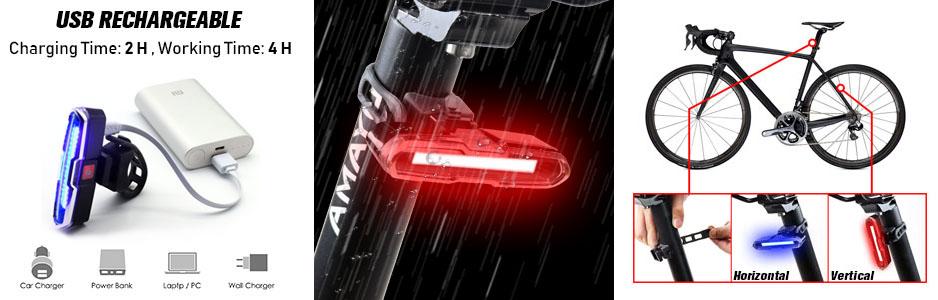 luz trasera bicicleta don peregrino