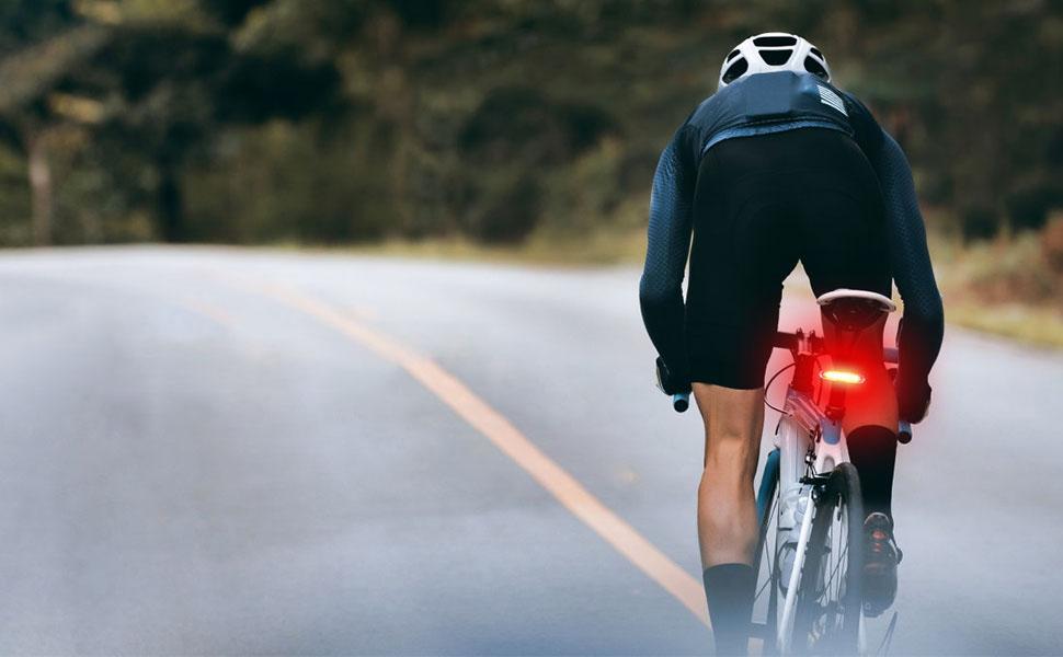 luz trasera bicicleta