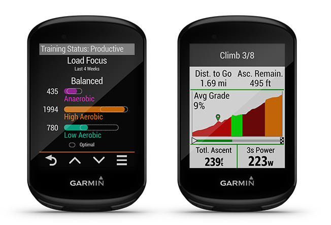 climb pro garmin edge 830