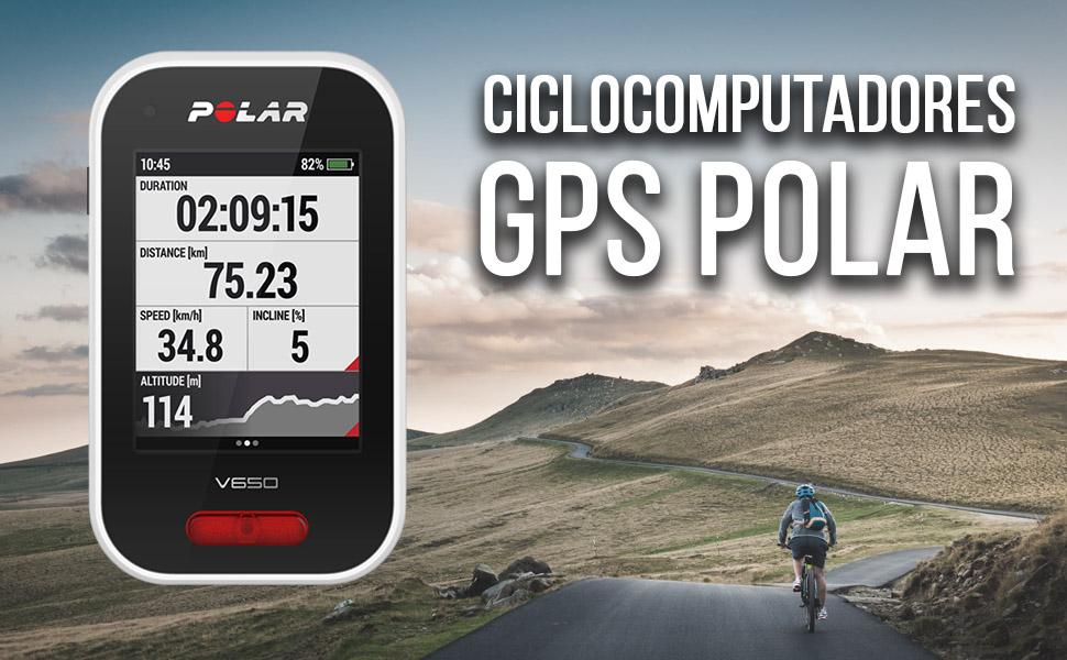 mejores ciclocomputadores polar gps ciclismo mtb