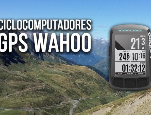 mejores ciclocomputadores wahoo gps ciclismo mtb