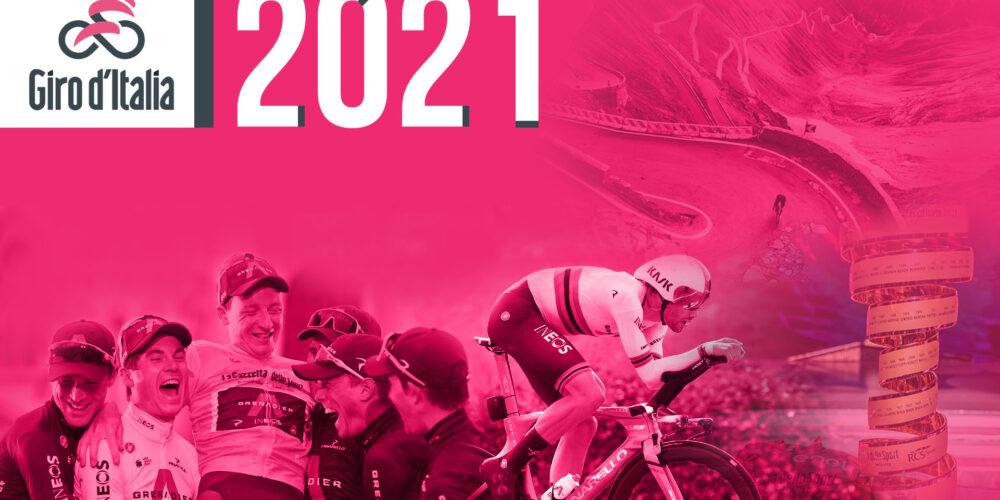 giro italia 2021 - recorrido favoritos perfiles de etapa