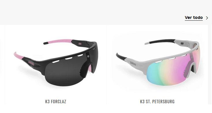 Siroko gafas ciclismo y mtb para chica