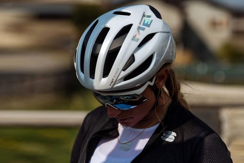 casco ciclismo carretera met vinci
