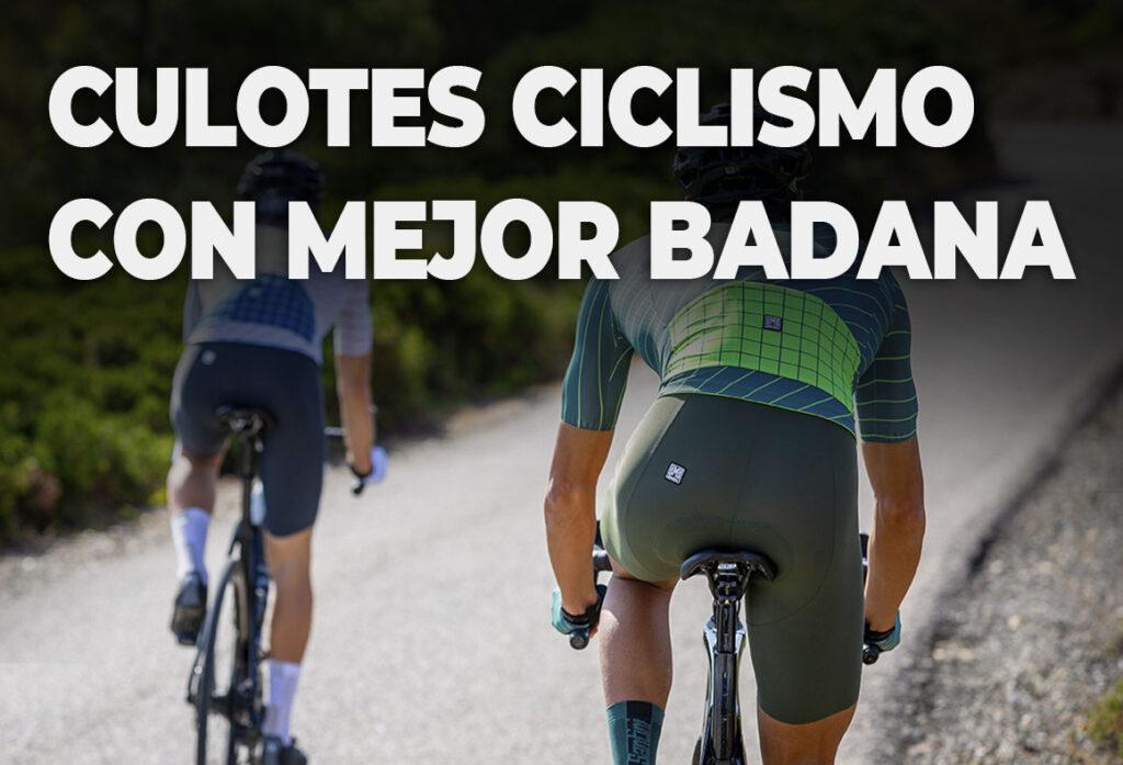 culotes ciclismo mejor badana