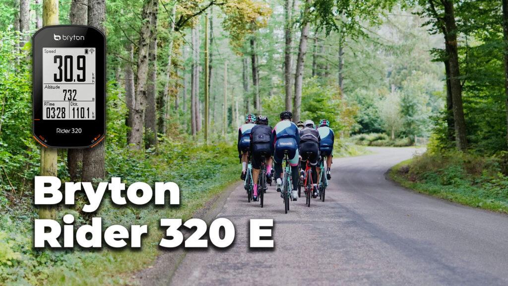 Bryton Rider 320 e Opiniones