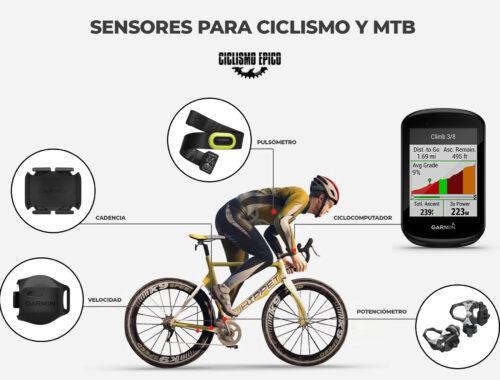sensores para ciclismo y mtb